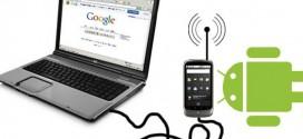 آموزش انتقال اینترنت رایگان همراه اول از گوشی به کامپیوتر توسط کابل با حداکثر سرعت